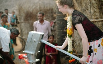Clean water in India