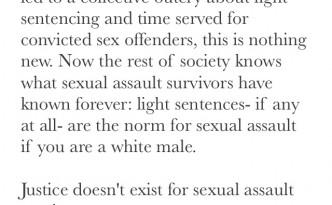 Brock Turner rapist sentencing